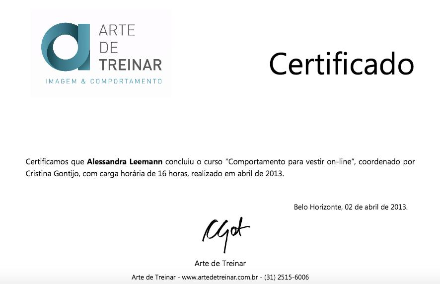 Imagem ilustrativa do certificado de conclusão